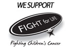 We Support Fight For Life - fighting children's cancer